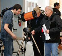 Lot's of great telescopes on display