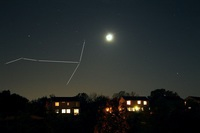 Antares - Mars - Moon - Jupiter - 28 Sept 2014