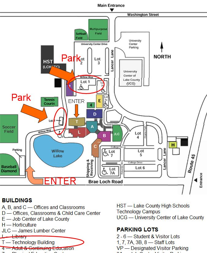 Top College Of Lake County Map Pics - Printable Map - New ...